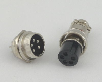 picture of PMDX-5Pin-PlugAndJack 5 pin connector