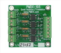 PMDX-105 Quad Isolator/Translator Board