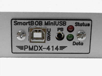 PMDX-412 with panel installed